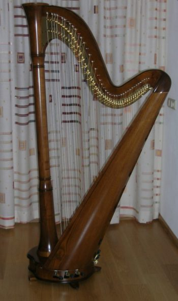 David-Enkelpedaalharp