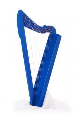 flatsicle-harp blauw