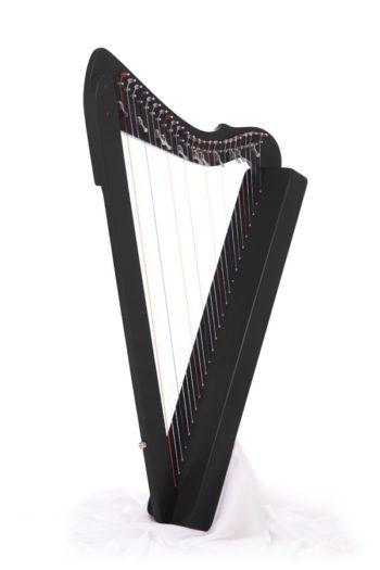 flatsicle-harp zwart